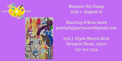 Art Exploration Summer Camp