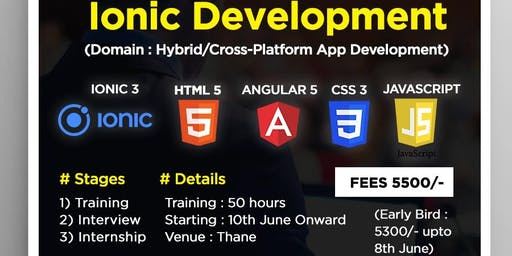 ionic Development Training & Internship