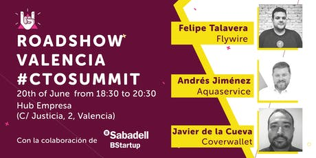 Roadshow Valencia #CTOSUMMIT entradas