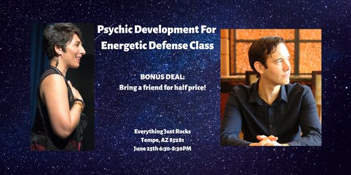 Psychic Development For Energetic Defense Class