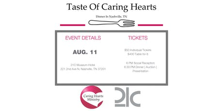A Taste of Caring Hearts tickets