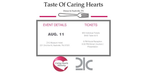 A Taste of Caring Hearts