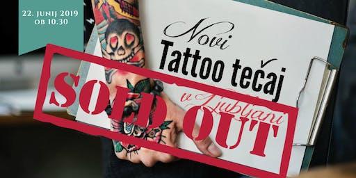 Predstavitev novi tečaja Tattoo — 22. junij 2019 ob 10.30