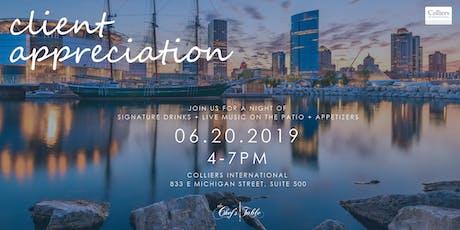 Colliers International - Client Appreciation tickets