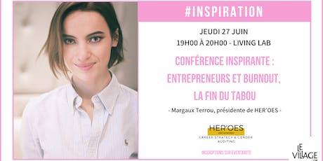 Conférence inspirante avec Margaux Terrou billets