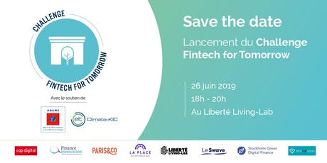 Lancement du Challenge Fintech for Tomorrow 2019 billets