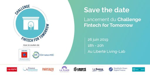 Lancement du Challenge Fintech for Tomorrow 2019