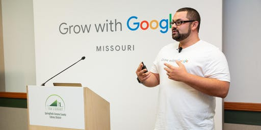 Grow with Google and the Small Business & Technology Development Center