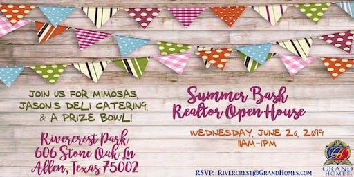 Summer Bash Realtor Open House