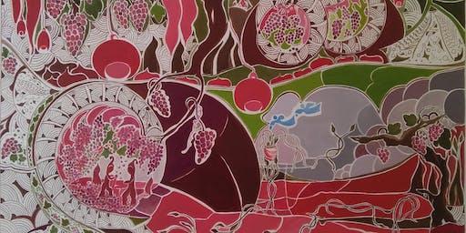 "Vernissage ""Forêt De Lugoslande"" de Annie Domec"