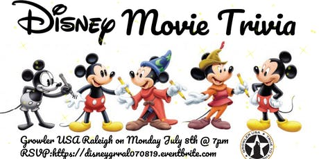 Disney Movie Trivia at Growler USA Raleigh tickets