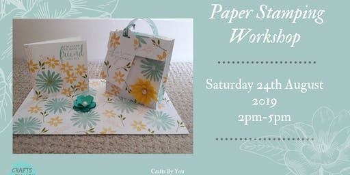 Paper Stamping Workshop