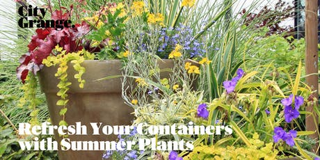 Refresh Your Containers with Summer Plants tickets