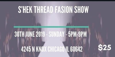 S'hek Threads Fashion Show 2019
