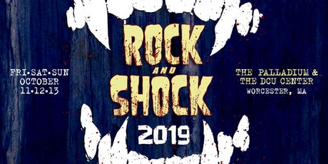 ROCK AND SHOCK 2019 ***3-DAY COMBO TICKET***