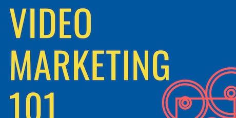 Video Marketing 101 tickets