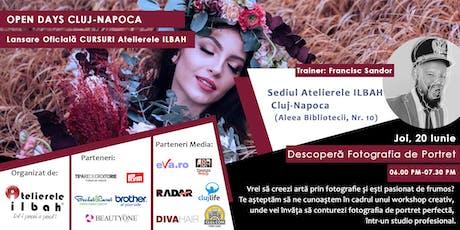 Descopera Fotografia de Portret - OPEN DAYS Atelierele ILBAH 2019 - CLUJ-NAPOCA tickets