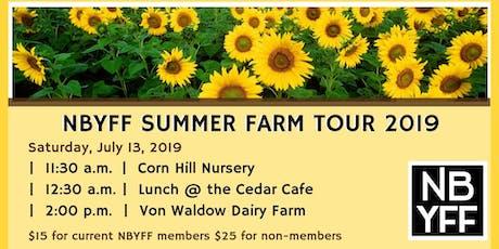 NBYFF Summer Farm Tour 2019 tickets