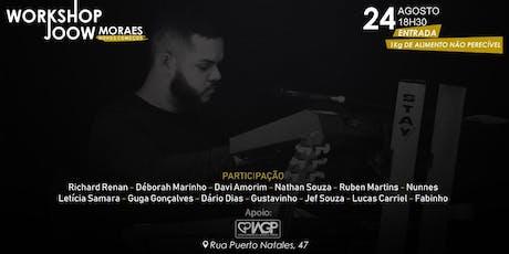 Workshop Joow Moraes - Novos Começos ingressos