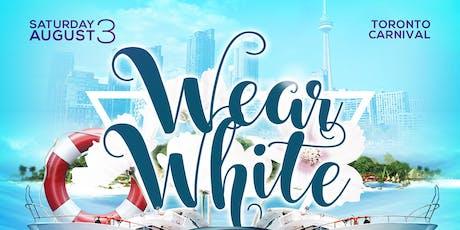 WEAR WHITE 2019 tickets