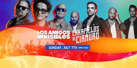 Los Amigos Invisibles, Caramelos de Cianauro & More tickets