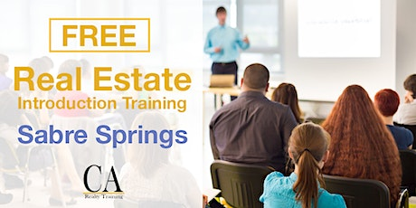 Free Real Estate Intro Session - Sabre Springs tickets