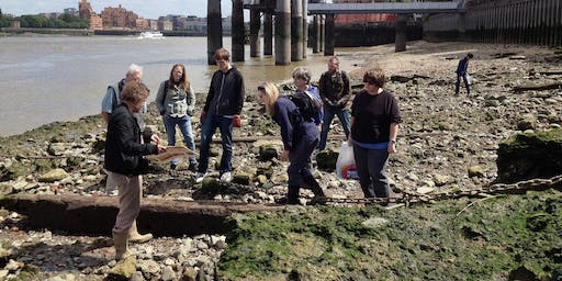 Rotherhithe Foreshore Guided Walk