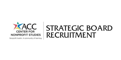 Strategic Board Recruitment tickets