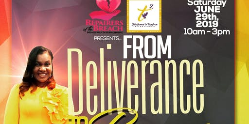 From Deliverance To Purpose!!