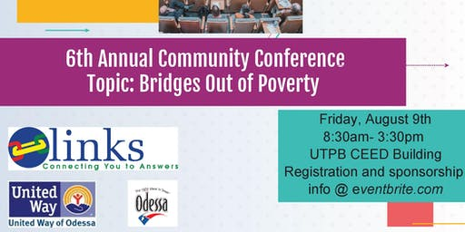 6th Annual Links Community Conference- Bridges out of Poverty