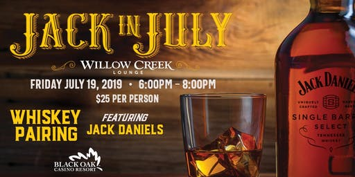Jack in July Whiskey Pairing