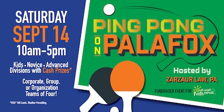 Ping Pong on Palafox - Hosted by Zarzaur Law, PA tickets