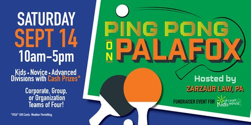 Ping Pong on Palafox - Hosted by Zarzaur Law, PA