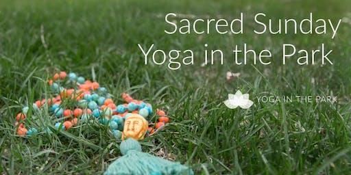Sacred Sunday Yoga in the Park