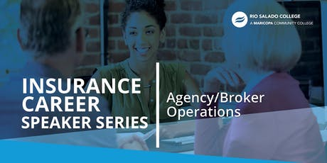 Insurance Career Speaker Series: Agency/Broker Operations tickets