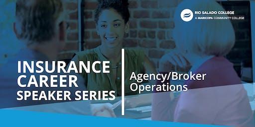 Insurance Career Speaker Series: Agency/Broker Operations