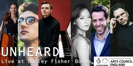 Unheard: Live at Burley Fisher Books tickets