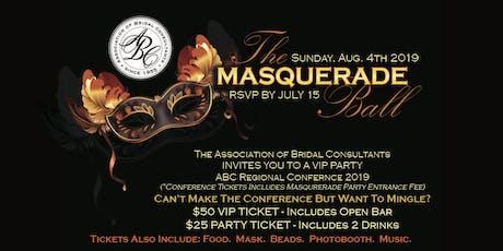 ABC PRESENTS: Masquerade Ball tickets