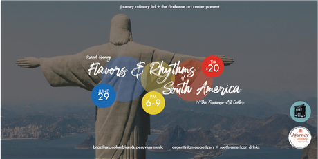 Flavors & Rhythms of South America tickets