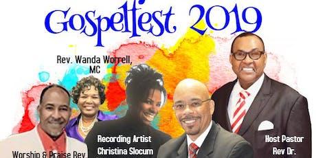 Gospelfest 2019 tickets