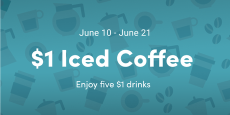$1 Iced Coffee - Chicago tickets