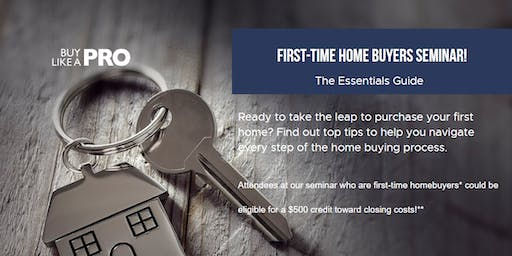 Free Seminar for First-time Home Buyers - Fargo Region