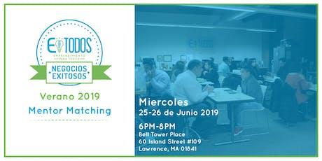EparaTodos Lawrence | Negocios Exitosos Mentor Matching Verano 2019 tickets