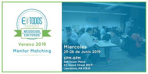 EparaTodos Lawrence | Negocios Exitosos Mentor Matching Verano 2019