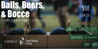 Balls, Beers, & Bocce- A Lawn Summer Nights Fundraiser