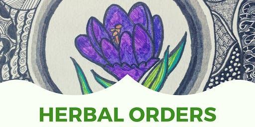 Herbal Orders