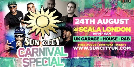 Sun City Carnival Special  tickets