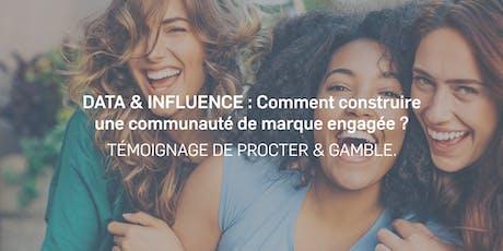 Data & Influence: Petit-Déjeuner Conférence | Témoignage P&G avec Emarketing.fr billets