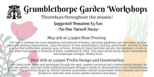 Grumblethorpe Garden Workshop Series