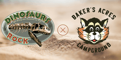 Dinosaurs Rock® at Baker's Acres Campground!